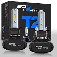 BPS Lighting T2 Series H3 LED Headlight Bulbs Conversion Kit 8000LM 50W