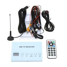 Mini Car DVD TV Receiver Analog Tuner Monitor Strong Signal Box + Antenna N6H4