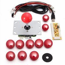 Fai DA TE MANIGLIA 8 KIT JOYSTICK Way Arcade 5 PIN 24mm/30mm pulsante sostituzione AR
