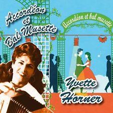 CD Accordéon et bal musette : Yvette Horner
