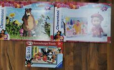 puzzle Masha e orso Bing 24 pezzi 2x12 pezzi +3 anni