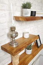 BestLoft Wandboard Holz Eiche Wandregal Regal 40 50 60 80 100 120 140 160 cm