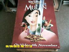 Mulan (WALT DISNEY, 8th novembre) MOVIE POSTER