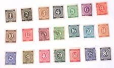 21 Deutsches Post PFennig Stamps