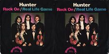 DISCO 45 GIRI      HUNTER  ‎– ROCK ON / REAL LIFE GAME