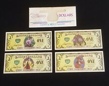 2013 Disney Dollars Villains and Heroes W/ ERROR Cruella Excellent condition