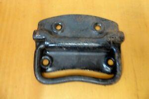 VINTAGE / ANTIQUE STEEL CAST METAL CHEST TRUNK DRAWER HANDLE