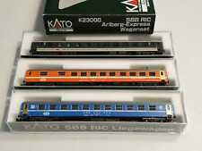SPUR N SBB RIC ARLBERG-EXPRESS WAGENSET KATO K23000 (C841)