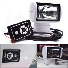 Boat Remote Control Spotlight Truck Car Marine Searchlight 12V 100W Bulb Bright