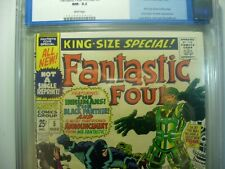 FANTASTIC FOUR ANNUAL 5 CGC 9.2 NM- STAN LEE JACK KIRBY 1st SOLO SILVER SURFER!
