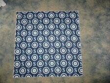 MLB SEATTLE MARINERS BASEBALL HEAD BANDANA / CHEERING CLOTH  22 1/2""