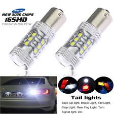 2pcs Xenon White 80W LED Rear Fog Light 1156 P21W For Hyundai Santa Fe 2000-2015