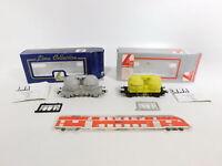 CI661-0,5# 2x Lima H0/DC 302817K ? Silowagen/Güterwagen SBB CFF NEM, NEUW+OVP