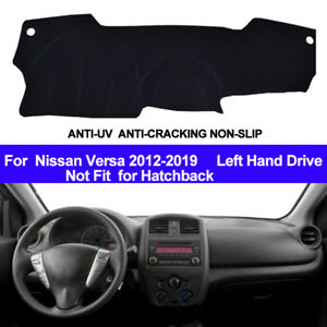 Car Dashboard Dash Mat Dash Cover for Nissan Versa 2012-2015 2016 2017 2018 2019