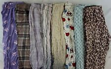 Gap Body, Old Navy, PB Basics Mix Lot of 8 Women's Pajama Pants Medium M