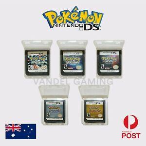 🇦Pokemon Platinum, Diamond, Pearl, HeartGold & SoulSilver Version DS, DSI, 2DS