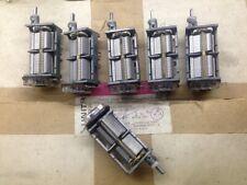 2pcs Dual Gang Air Variable 505pF + 480pF + Trimmer 100kohm Ham Tuning Capacitor