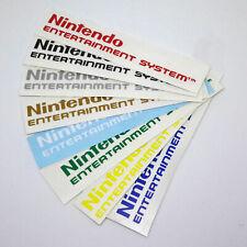 Nintendo Entertainment System Logo Sticker Vinyl Decal NES Front Door Video Game