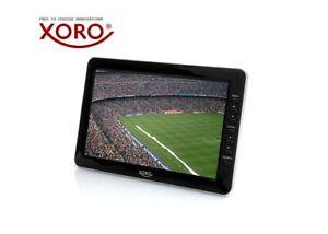 "XORO PTL 1010 Tragbarer 10"" Zoll Fernseher, DVB-T2 Tuner, PVR Ready, Mediaplayer"