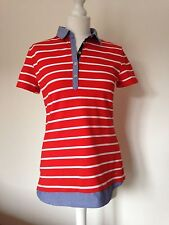 Tommy Hilfiger Cotton Polo Striped Tops & Shirts for Women