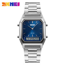 SKMEI High Grade Men's Gift Watch Multifunction Waterproof Stainless Steel Watch