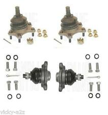 TOYOTA HILUX SURF IMPORT 4RUNNER 1988-2004 2 LOWER 2UPPER SUSPENSION BALL JOINTS