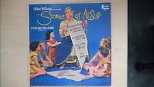 Disneyland Records Walt Disney presents the Story of AESOP LP 1964