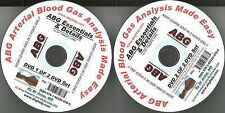 ABG - Arterial Blood Gas Analysis Made Easy by A. B. Anup (DVD Audio, 2009)