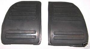 Ford Cortina Mk3 pedal rubber set