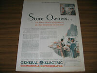 1930 Vintage Ad GE General Electric Commercial Refrigerators Cleveland,OH