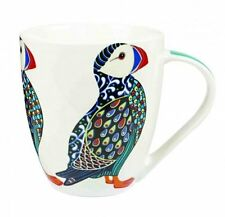 Queens PARADISE BIRDS Crush MUG - Tropical PUFFIN Fine China Mug 500ml Churchill