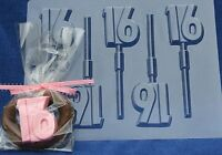 """""""16"""" LOLLIPOP CHOCOLATE CANDY MOLD PARTY FAVOR FAVORS BIRTHDAY"""