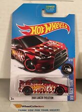2008 Lancer Evolution * RED Kmart Only * 2017 Hot Wheels * NF9