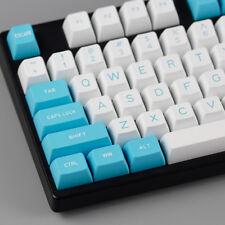 MAXKEY CYAN keycap SA Double shot ABS keycaps for mechanical keyboard fit kbd75