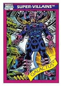GALACTUS / Marvel Universe Series 1 (Impel 1990) BASE Card #75