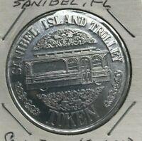 Sanibel Florida FL Sanibel Island Trolley Transportation Token