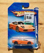 Hot Wheels Lamborghini Murcielago Orange Dream Garage 2009 #4 150/190 04/10 New