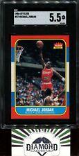 1986 Fleer #57 Michael Jordan ROOKIE SGC 5.5 EX+ [Nicely Centered]  HOF RC