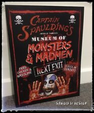 Captain Spaulding Devil's Rejects Movie Print 16 X 12 Inch Monsters And Madmen