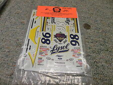 Slixx decals #98 Lysol Elton Sawyer    K12
