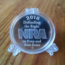 National Rifle Association 1 oz. Silver Round .999 Pure Silver Round spots