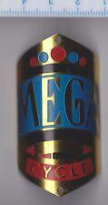 Vintage MEGA Bicycle Cycle Head Badge Fahrrad Abzeichen