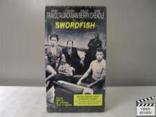 Swordfish 2001 VHS Travolta Berry Jackman Cheadle