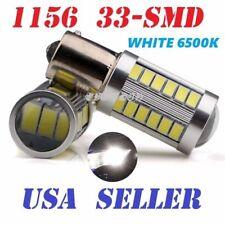 Rear Turn Signal 1156 BA15S P21W 7506 33 SMD White LED Light Bulb For Hyundai