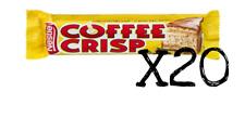 Coffee Crisp Chocolate Candy Bar 50g x 20 Nestle Canadian FRESH FROM CANADA