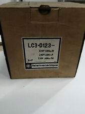 LC3 D123 8-40 contacteur