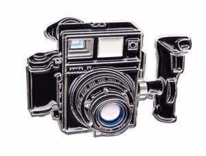 Official Exclusive Mamiya Press Super 23 120 Format film Camera Lapel Pin  Badge