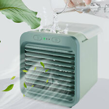 Portable Usb Mini Air Conditioner Cooling Fan Humidifier Purifier Desktop Office