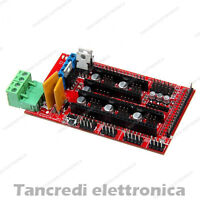 Controller RAMPS 1.4 Reprap Mendel Prusa stampante 3D (Arduino-Compatibile)