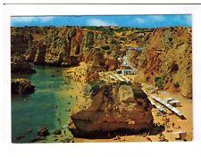 Postcard: D. Ana Beach, Lagos, Algarve, Portugal